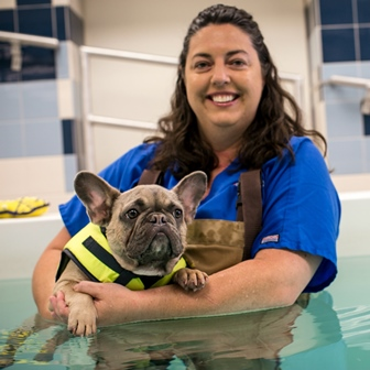 Wendy Davies & Dog